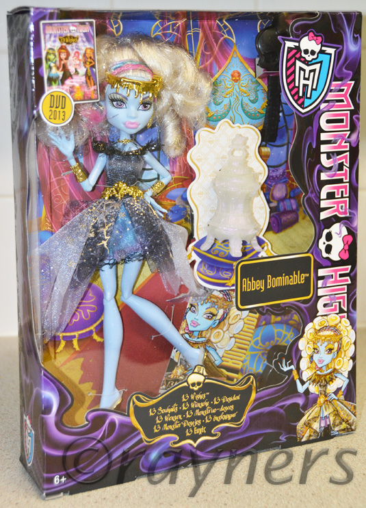Monster High Abbey Bominable       13 Wishes    Doll    Mattel BBR94Monster High Dolls 13 Wishes Abbey