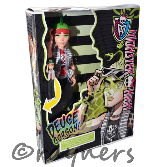 New monster high deuce duece gorgon ghoul 39 s ghouls alive doll mattel ebay - Monster high deuce ...