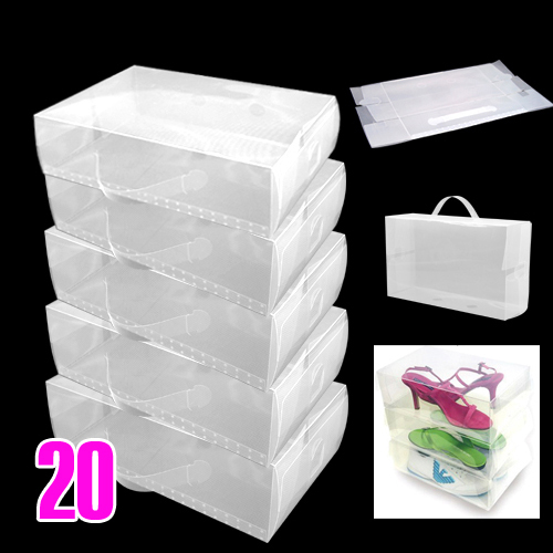 Cajas de plastico transparente sharemedoc - Cajas transparentes para zapatos ...