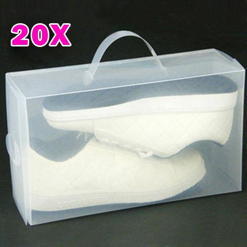 schuh aufbewahrung herrenschuhe aufbewahrungsbox sportschuhe 20 st ck gr e 8 12 ebay. Black Bedroom Furniture Sets. Home Design Ideas