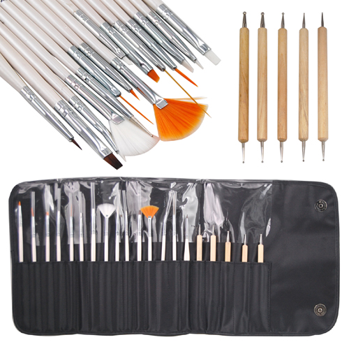 20pc Nail Art Design Painting Dotting Detailing Pen
