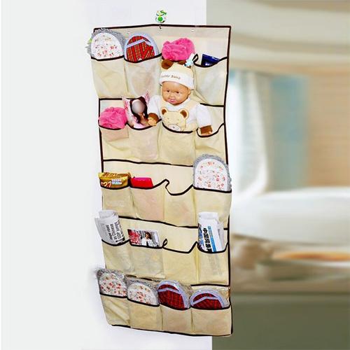 organiser t r taschen aufbewahrung h ngetaschen 20 taschen platzsparend ebay. Black Bedroom Furniture Sets. Home Design Ideas