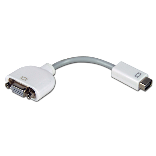 Mini dvi port to vga adapter for apple mac macbook display for Apple video projector