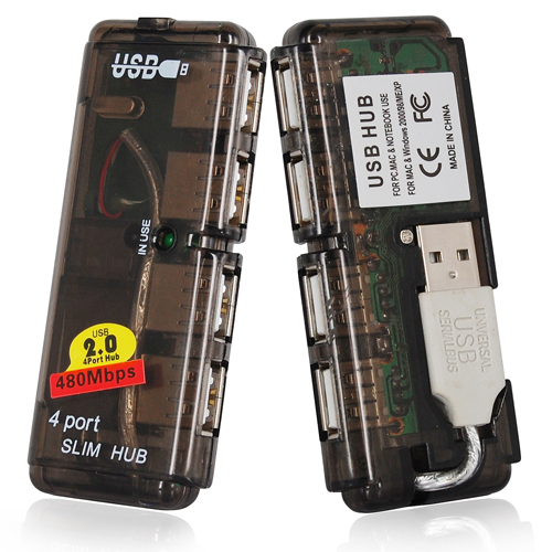 Estensione multi hub 4 porte usb alta velocit per laptod for Porte usb non funzionano windows 7