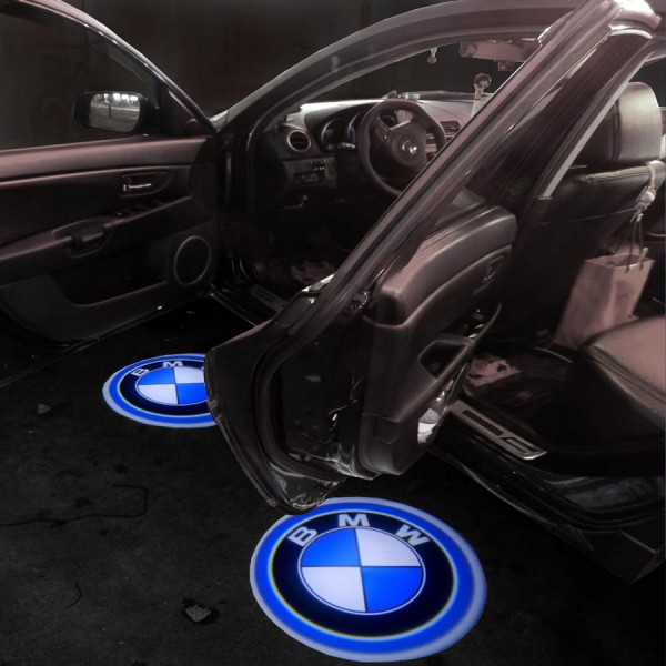 Bmw 1 Series Led Logo Lights Under Door Puddle Lamps Cree